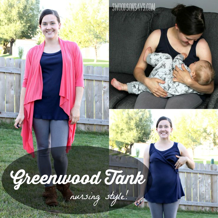 Greenwood Tank Straight Stitch Designs