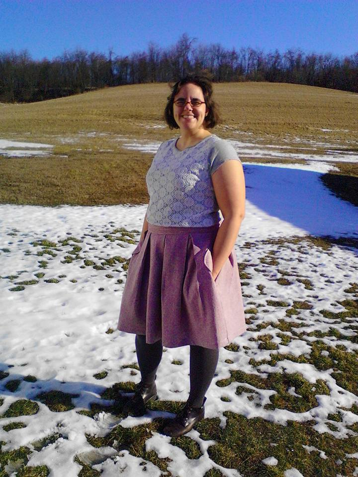 Wedgwood Skirt Pattern by Straight Stitch Designs