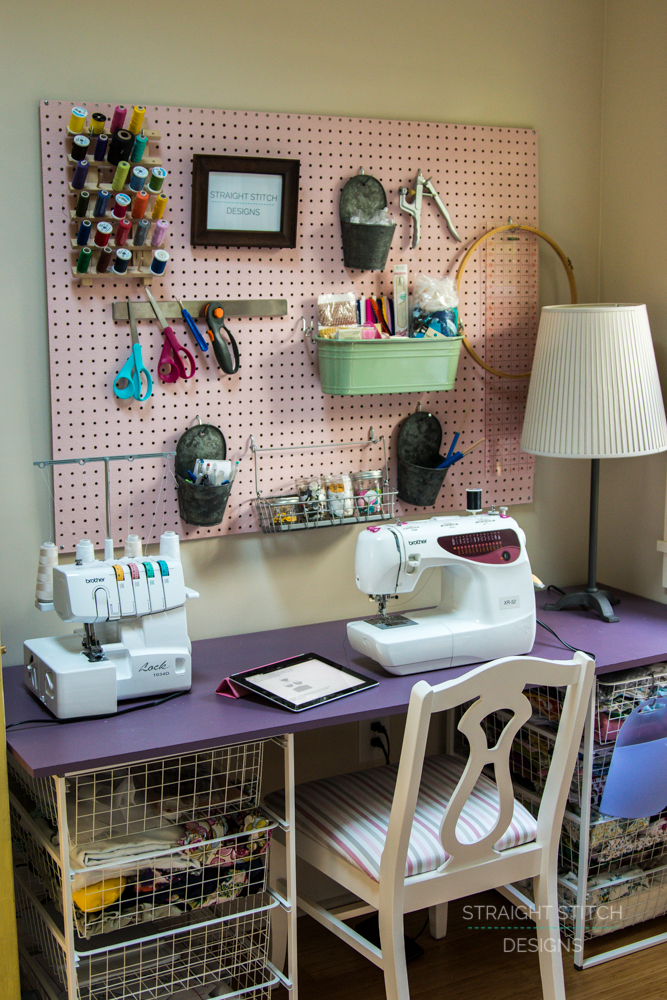 Designing A Sewing Room: Straight Stitch Designs