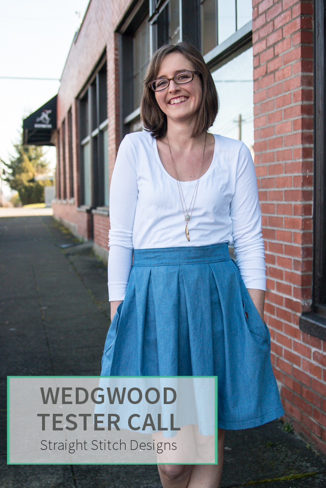 Wedgwood Skirt Test Call from Straight Stitch Designs