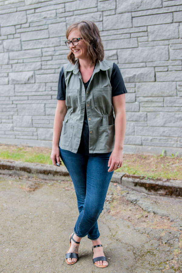 Magnuson Vest Sewing Pattern | Straight Stitch Designs