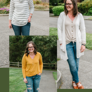 Three Pattern Options for Knit Workshop
